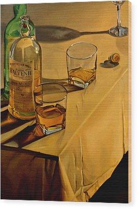 Balvenie Scotch Wood Print