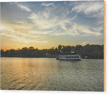 Bama Belle Sunset Wood Print by Ben Shields