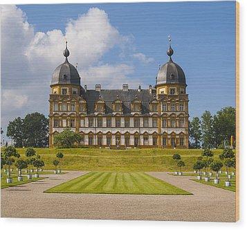 Bamberg Castle - Germany Wood Print by Gary Grayson