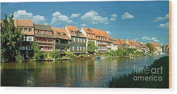 Bamberg Little Venice 1 Wood Print by Rudi Prott