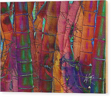 Bamboo Delight Wood Print
