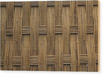 Wood Print featuring the photograph Bamboo by Jacqui Boonstra