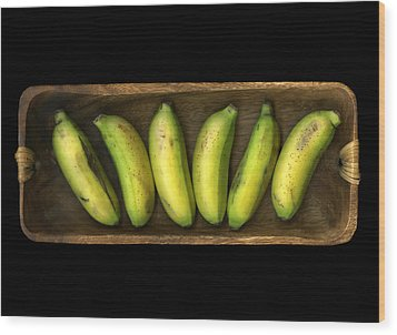Banana Boat Wood Print by Christian Slanec
