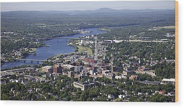 Bangor, Maine Wood Print by Dave Cleaveland