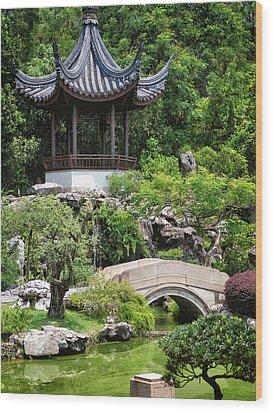 Bansi Garden Wood Print by John Swartz