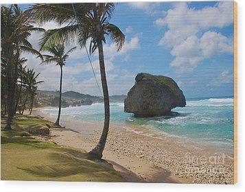Wood Print featuring the photograph Barbados by Blake Yeager