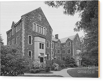 Bard College Warden's Hall Wood Print by University Icons