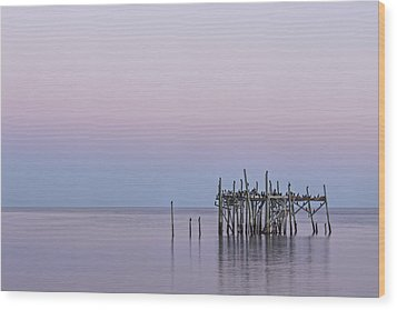 Barely Standing Wood Print by Jon Glaser