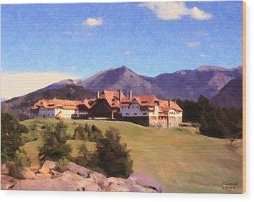 Bariloche Argentina 1956 Wood Print