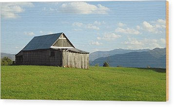 Barn #1 Wood Print