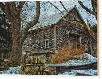 Barn 7087 Wood Print by Tricia Marchlik