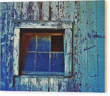 Barn Window 1 Wood Print
