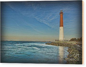 Wood Print featuring the photograph Barnegat Lighthouse II - Lbi by Lee Dos Santos