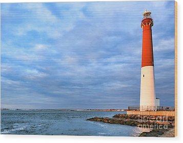 Barnegat Lighthouse Wood Print by Olivier Le Queinec