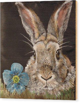 Barney Wood Print