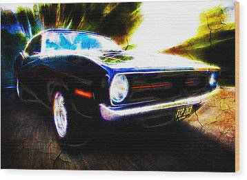 Barracuda Bliss Wood Print by Phil 'motography' Clark