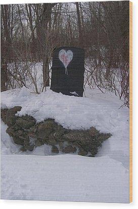 Wood Print featuring the photograph Barrel Of Heart by Jonathon Hansen