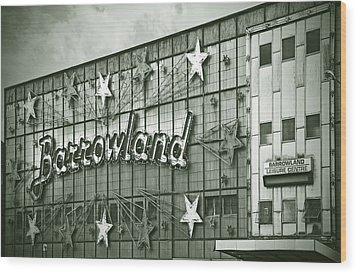Barrowland Glasgow Wood Print