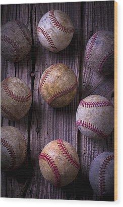 Baseball Memories Wood Print by Garry Gay