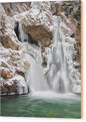 Bash Bish Falls Wood Print by Bill Wakeley