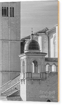 Basilica Details Wood Print