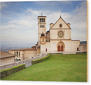 Basilica Of Saint Francis Wood Print