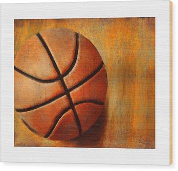 Basket Ball Wood Print by Craig Tinder