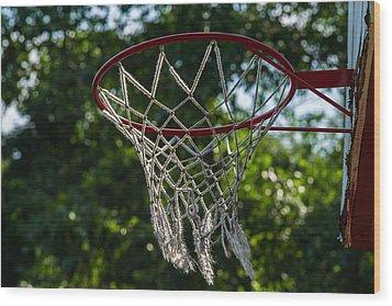 Basket - Featured 3 Wood Print by Alexander Senin