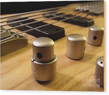 Wood Print featuring the photograph Bass by Andrea Anderegg