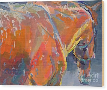 Bathtime  Wood Print by Kimberly Santini