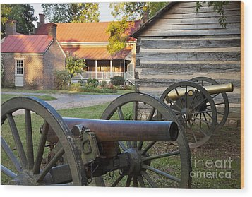 Battle Of Franklin Wood Print by Brian Jannsen