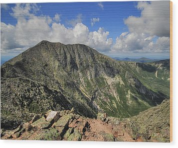 Baxter Peak Wood Print by Lori Deiter