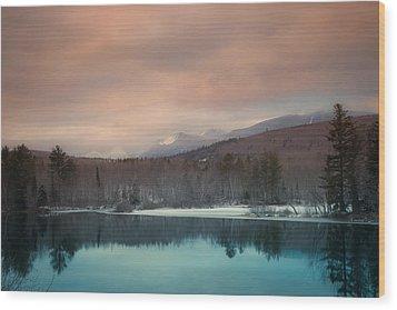 Baxter State Park Maine  Wood Print