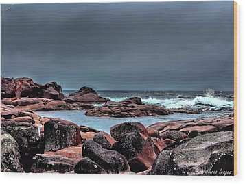 Bay Of Fires 3 Wood Print by Wallaroo Images