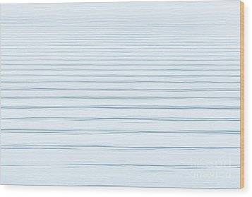 Bay Ripples Wood Print by Susan Cole Kelly Impressions