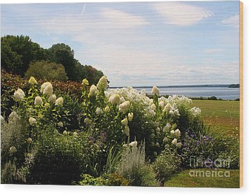 Bay View Bristol Rhode Island Wood Print