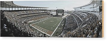 Baylor Gameday No 4 Wood Print by Stephen Stookey