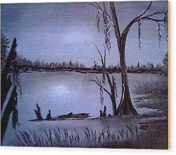 Bayou Dreams Wood Print
