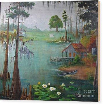 Bayou Living  Wood Print