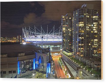 Bc Place  Wood Print by Kathy King