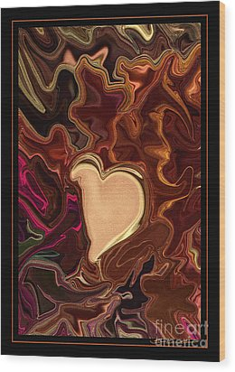 Be Mine By Steven Langston Wood Print by Steven Lebron Langston