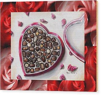Be My Valentine Wood Print by Shana Rowe Jackson