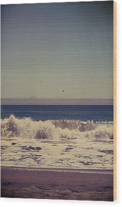 Beach Days Wood Print by Laurie Search