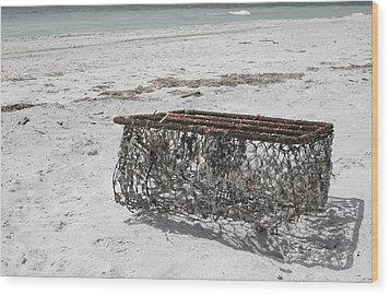 Beach Finds Wood Print by Georgia Fowler
