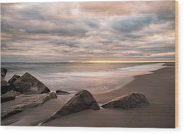 Wood Print featuring the photograph Beach Therapy by Anthony Fields