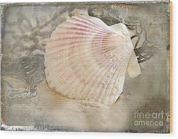 Beached Wood Print by Betty LaRue