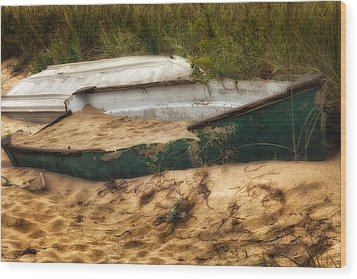 Beached Wood Print by Bill Wakeley