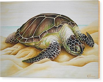 Beached Wood Print by William Love