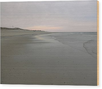 Beachscape Wood Print