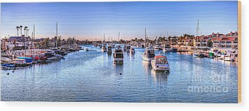 Beacon Bay Wood Print by Jim Carrell